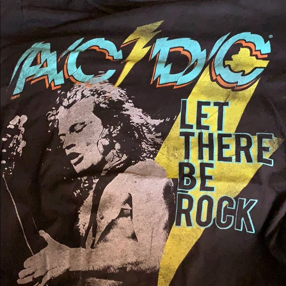 Aeropostale Other - AC/DC T Shirt XL Let There Be Rock Black
